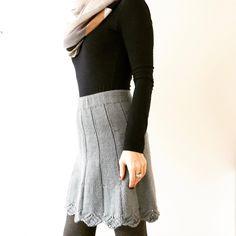 Ravelry: Jåleskjørtet pattern by Jane Josten Crochet Skirts, Knit Crochet, Ravelry, Lace Skirt, Knitting, Tights, Pattern, Fashion, Blouse
