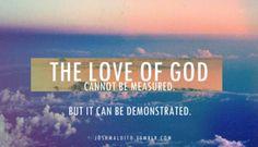 God's love never ends