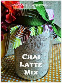 twelveOeight: How To Make Chai Tea Latte Mix
