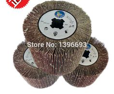 Emery cloth wheel, polishing wheel of Electric wire drawing polishing machine for stainless steel mirror polishing treatment. #Affiliate