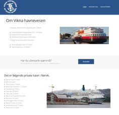 Vikna Havnevesen Rørvik Havn KF  Der nord og sørgående hurtigrute møtes til kai!