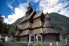 Borgund Stave Church : Lardal, Norway  year: 1180