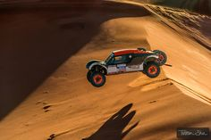 When you make that crest, you cannot see the otherside. Dakar