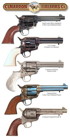 Display of Cimarron Firearms - Revolvers