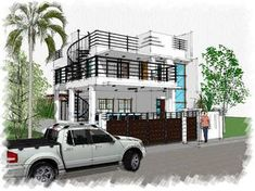 House Plan Purchase - Sets of Plan Blueprint Signed & Sealed) - Only Construction Contract: P M - Low-End/Budget P M - Mid-Range/Standard. Two Storey House Plans, 2 Storey House, Master Bedroom Plans, Construction Contract, Low End, Small House Design, House Layouts, House Floor Plans, Architecture Design