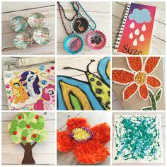 9 rainy day kids craft ideas