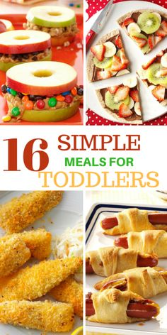 Here is a list of tried and trusted simple meals your toddler will definitely love, I did a thorough research before bringing you this list, this makes the list a well-proven list of meals.