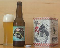 """Bière Blanche (brasserie Parisis - Île-de-France - France) -  Calendrier de l'après """"Une petite mousse"""" - Jour 16 -"""