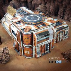 Infinity the Game Terrain Cosmica Jurisdictional Control Building