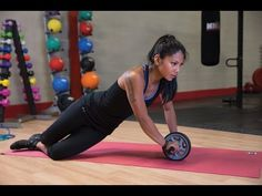 Ab Wheel Workout (Body-Solid Core Essentials) - YouTube