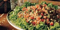 Dias quentes! Pedem comidas leves!! Que tal fazer este tabule vegetariano? Fica uma delicia!   Xilicchic: Receita Vegetariana: Tabule
