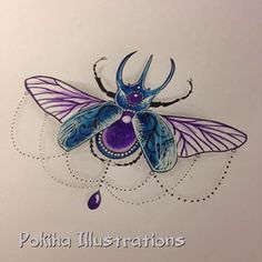 jewel bug tattoo - Google Search