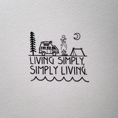Living simply//simply living