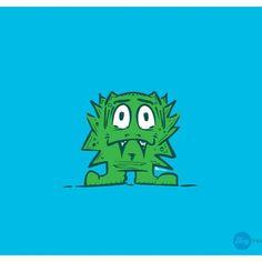 Little monster #HeyFrank #mymonster #illustration #monsterlove #doodle #cartoon