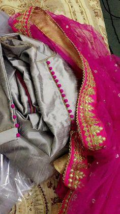 Suit details Indian salwar kamees Click visit link for more details Pakistani Formal Dresses, Pakistani Dress Design, Designer Punjabi Suits, Indian Designer Wear, Salwar Suits Party Wear, Party Wear Dresses, Party Dress, Stylish Dress Designs, Stylish Dresses
