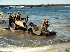 Wartime Jeeps | war ii picture galleries art other resources world war ii amphibious ...