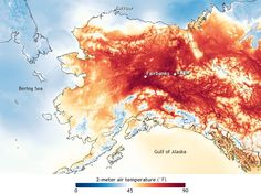 Alaska sets new record for earliest day with temperatures in the 90s | NOAA Climate.gov