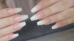 Tapered square nails, baby boomers, coffin nails