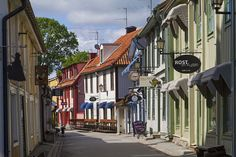 Oldest town in Sweden: Sigtuna. 45min drive from Stockholm