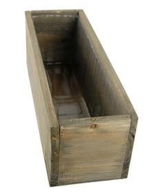 This Lined 11.75'' Wood Planter Box is perfect! #zulilyfinds