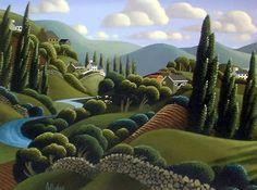 George Callaghan  ~  River Winding