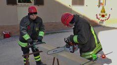 Sisma centro Italia - I soccorsi dei Vigili del Fuoco - 04/01 Camerino -...