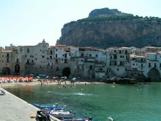 Cefalù is a historic town situated at the northern coast of Sicily, 50 km east of the Sicilian capital city of Palermo. Cefalu Sicily, Sicily Travel, Regions Of Italy, Sicily Italy, Medieval Town, Beautiful Places To Visit, Capital City, Coast, Europe