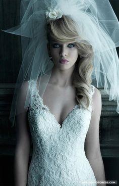 Sleeveless Trumpet Draping Lace Chapel Train Wedding Dress