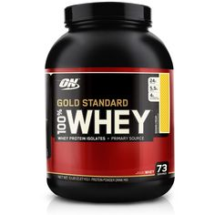 Whey Gold Standard Banana 5Lbs (2270g) Optimum Nutrition ON :: UniNatural