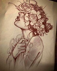 Pin by brittany patton on beautiful body art Tattoo Sketches, Tattoo Drawings, Body Art Tattoos, Art Sketches, Sleeve Tattoos, Desenho Tattoo, Tattoo Stencils, Flash Art, Traditional Tattoo