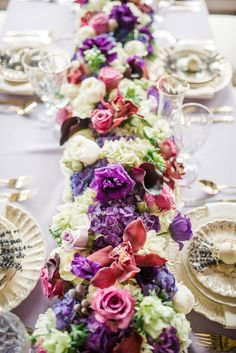 Fairy Tale Inspired Lavender Wedding Ideas   Gorgeous Florals   Everlasting Love Photography