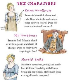 The characters in Emma.