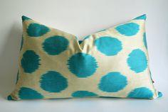 Sukan / Decorative Ikat Throw Pillow Cover Accent Pillow by sukan, $49.95