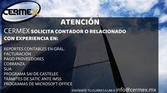Atención: #Monterrey N.L. #Apodaca N.L.  #Guadalupe N.L. #SanNicolásdelosGarza N.L. Mándanos tu curriculum !!!!