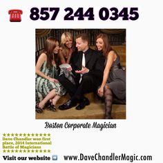 www.DaveChandlerMagic.com  Boston Magician - Magician in Boston Dave Chandler  Boston Magician - Magician in Boston Massachusetts