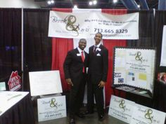 Working at the Black Expo