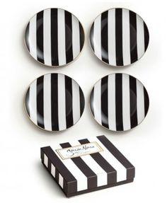 Soiree Noire Dessert Plates