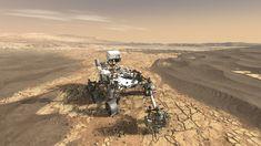 NASAs Mars 2020 Rover Artists Concept