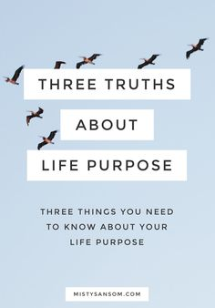 Three things you need to know about your life purpose. Hint: Your passion are not your purpose, you don't need to save the world, and you don't have to quit your day job. Click through to read! Finding Purpose, Life Purpose, Purpose Quotes, Self Development, Personal Development, Journaling, This Is Your Life, Self Improvement Tips, Self Discovery