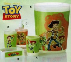 Bath Accessories Set Toy Story