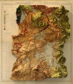 Historic topographic maps in new look-Is 3D doing the magic? - Geoawesomeness
