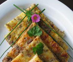 Jauhelihapannari on helppo iltapaja ja eväs My Cookbook, Asparagus, Zucchini, Recipies, Good Food, Brunch, Food And Drink, Cooking Recipes, Favorite Recipes