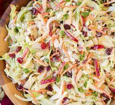 Recette : Salade de chou et pomme. Summer Salad Recipes, Slaw Recipes, Healthy Salad Recipes, Summer Salads, Chicken Recipes, Coleslaw Salad, Apple Slaw, Healthy Afternoon Snacks, Recipe For Mom