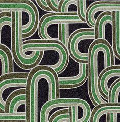 Whakapapa: get down on your knees, glitter on canvas by Reuben Paterson Glitter On Canvas, Glitter Art, Ruben Patterson, Maori Symbols, Maori Art, Pattern Design, Arts And Crafts, Design Inspiration, Tapestry