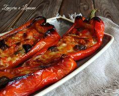 Appartengono alla varietà Cornelio questi peperoni ripieni: un piatto…