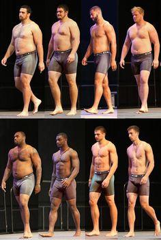 Buenas referencias anatomicas de distintos tipos de cuerpos -- Good anatomy reference for the different body types