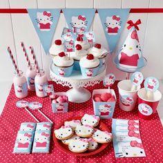 Θεματικό πάρτυ Hello Kitty με συνταγή για τούρτα βήμα - βήμα και ΔΩΡΕΑΝ ΕΚΤΥΠΩΣΕΙΣ! - Daddy-Cool.gr