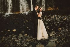 Woodland Portland Elopement by Dylan and Sara Photography - via ruffled