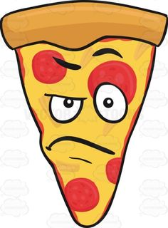 Angry Slice Of Pepperoni Pizza Emoji #americanpizza #angered #angry #caricature #cartoon #cartoonface #cheese #cheesy #cheeza #chicagostyle #crust #emoji #emoticon #faceonfood #food #furious #mad #madlook #maddened #meltedcheese #mozarella #mozzarellacheese #outraged #pepperoni #pepperonichips #pepperonislices #pie #pizza #pizzapie #pizzaslice #provoked #raging #raisedeyebrows #single #singleslice #slice #smiley #smilies #stormy #tempestuous #thickcrust #thincrust #trianglepizza #umbrageous…