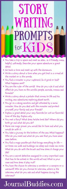 See these 17 fun story writing ideas for kids that will inspire them to write a fabulous story.